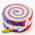 The Wiggles 2.5\u0022 Rolie Polie by Riley Blake