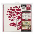 FolkArt 26 pk 12\u0027\u0027x12\u0027\u0027 Die-cut Paper Stencils-Flowers