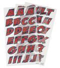 Wrights Detective Comics Spider-Man 59 pk Alphabet Iron-On Transfers