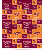Virginia Tech Hokies Cotton Fabric 43''-Block, , hi-res