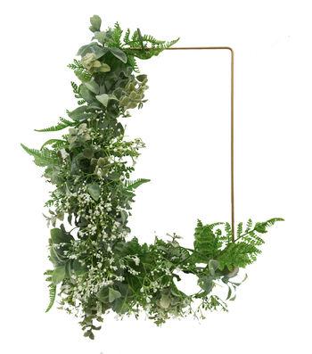 Fresh Picked Spring 24'' Fern Leaf & Baby's Breath Wreath