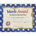 Hayes Merit Award Certificate, 30 Per Pack, 6 Packs