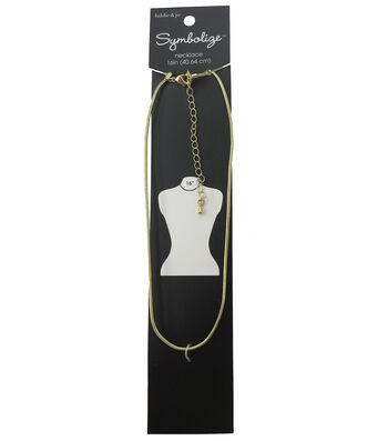 hildie & jo Symbolize 16'' Snake Gold Necklace