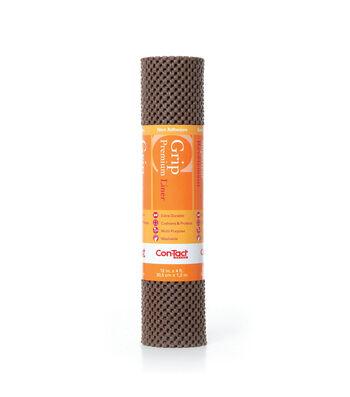 12in x 4ft Contact Grip Liner Premium-Chocolate