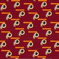 Washington Redskins Cotton Fabric -Mini Print