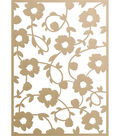 Ultimate Crafts Special Occasions Die-Floral Vines Background 3.9\u0022X5.5\u0022
