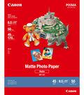 Canon PIXMA 50 pk 8.5\u0027\u0027x11\u0027\u0027 Matte Photo Papers