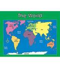 Carson-Dellosa World Map Chart 6pk