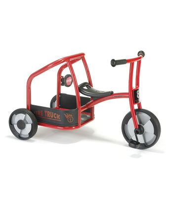 Winther Viking Fire Truck Tricycle-Red