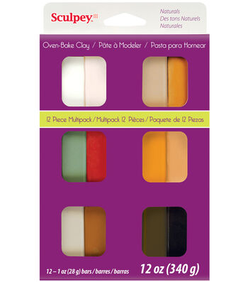 Sculpey III Multi Packs-Naturals