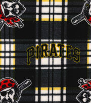 Pittsburgh Pirates Fleece Fabric -Plaid, , hi-res