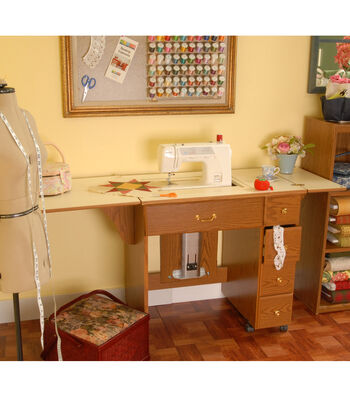 Homespun Auntie Oakley Sewing Cabinet