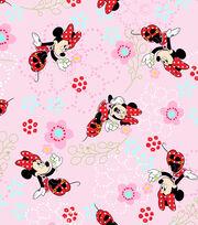 Disney Minnie Mouse Cotton Fabric 44''-Floral Garden, , hi-res