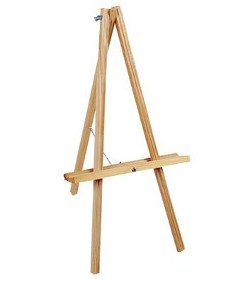 "Natural Wood Table Easel 20"" High"