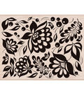 Hero Arts Mounted Rubber Stamp-Large Floral Background