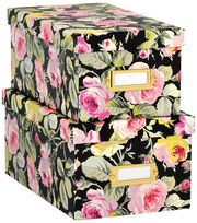 Anna Griffin Grace Black Nesting Boxes, , hi-res