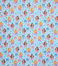 Novelty Cotton Fabric-Happy Mermaids