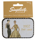 Simplicity Vintage Magnetic Tin-1957