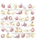 Alexandra Renke Cooking Paper 12\u0022X12\u0022-Onions