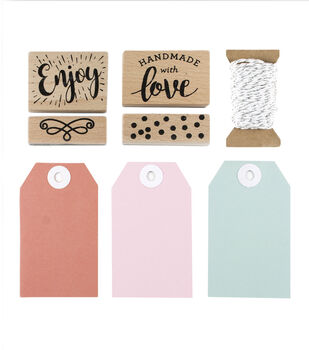 Park Lane Tag & Stamp Kit-Made with Love