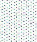Quilter\u0027s Showcase Cotton Fabric -Teal, Blue & Purple Floral
