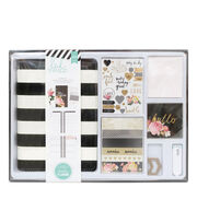 Heidi Swapp Memory Planner Kit Black and White, , hi-res