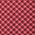 Super Snuggle Flannel Fabric-Kate Red & Gray Plaid