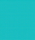 Core\u0027dinations Core Basics Patterned Cardstock 12\u0022X12\u0022-Teal Small Dot