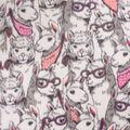 Anti-Pill Plush Fleece Fabric-Cool Llamas