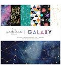 Park Lane 12\u0022x12\u0022 Paper Pad-Galaxy