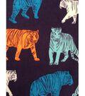 Doodles Juvenile Apparel Fabric 57\u0027\u0027-Bold Tigers