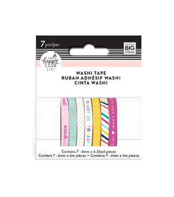 The Happy Planner Girl Washi Tape - Faith Warrior