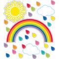 Giant Rainbow Bulletin Board Set