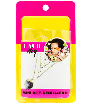 LaurDIY Gold Layer Necklace Mini DIY Kit