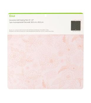 Cricut 12''x12'' Decorative Self-Healing Mat-Rose