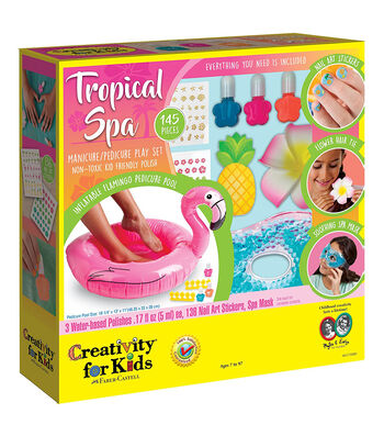 Creativity for Kids Tropical Spa Kit