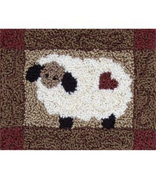 Rachel's of Greenfield Punch Needle Kit Sheep