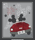 Disney Mickey & Minnie Mouse Fabric Panel 36\u0027\u0027-Vintage Evening Out