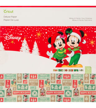 Cricut Deluxe Paper-Disney Mickey & Friends Cozy Christmas