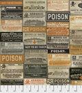 Halloween Cotton Fabric -Apothecary