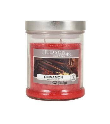 Hudson 43 Candle & Light Collection 11oz Cinnamon Jar