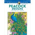 Adult Coloring Book-Creative Haven Peacock Designs