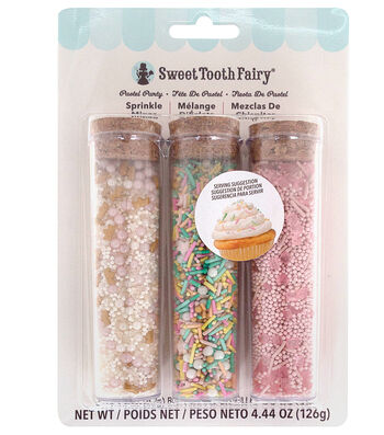 The Sweet Tooth Fairy 4.44 oz. Sprinkle-Pastel Party