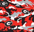 University of Georgia Bulldogs Cotton Fabric 58\u0022-Camo