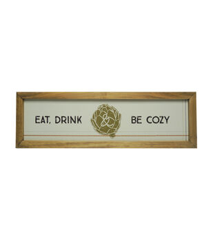 Simply Autumn Wall Decor-Eat, Drink & Be Cozy