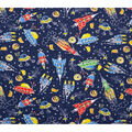 Novelty Cotton Fabric-Travels in Space