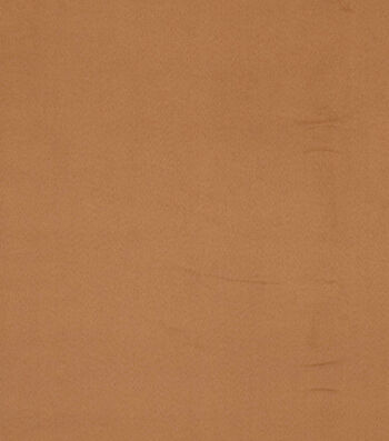 """Crypton Upholstery Decor Fabric 54""""-Smart Suede Camel"""