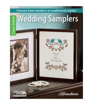 Leisure Arts Wedding Samplers Cross Stitch Book