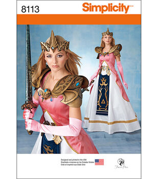 Simplicity Patterns US8113R5 Costumes-14-16-18-20-22