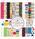 Doodlebug Back To School Paper Pack 12\u0027\u0027x12\u0027\u0027